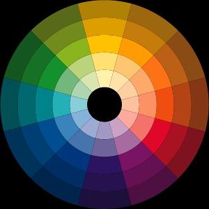 类似色相�y�_【北京网页设计】网页设计师教你使用色相环配色方案